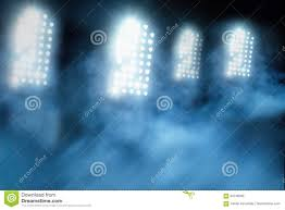 Stadium Lights Effect Stadium Lights And Smoke Stock Image Image Of Illuminated