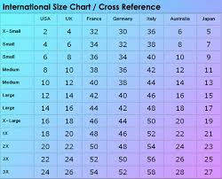 European To Us Clothing Size Chart 16 Size Charts Diel Sport Size Chart Us To Eu Pants