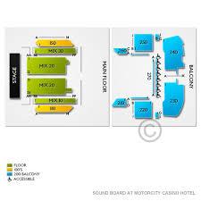 Soundboard Seating Chart Sound Board At Motorcity Casino Hotel 2019 Seating Chart