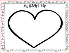 writing heart map what is in the character's heart? what is in Heart Map For Writers Workshop totally using this after reading map of my heart during our personal narratives unit Writing Heart Map Printable