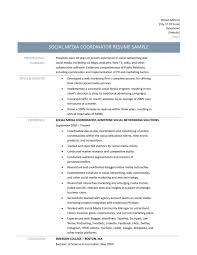 Marketing Coordinator Job Description Marketing Coordinator Resume Example Impressive Summary Also Event 22