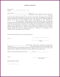 Affidavit Sample Format Free Download Sworn Affidavit Form Sample With Paragraph Format Twihot 1