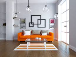 24 Orange Living Room Ideas and Designs Wow