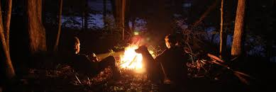 camping in the woods at night. Camping In The Woods At Night E