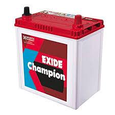 Exide Automotive Battery Application Chart Exide Champion Car Battery