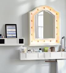 ✓ Elements Bathroom Mirror With Shelf Dunelm Bath Mirror Shelves