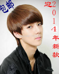 Korean Hair Style Boys aliexpress buy handsome boys wig new korean fashion short 1564 by wearticles.com