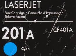 <b>Картридж</b> HP <b>CF401A</b> (№201A) (голубой) Голубой (Cyan ...