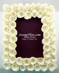 Paper Flower Frame Decorate A Picture Frame With Handmade Paper Flowers