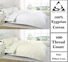 details about 400 thread count duvet covers set egyptian cotton single double super king size