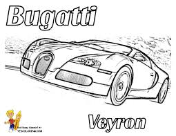 Small Picture Bold n Bossy Bugatti Race Car Coloring Page You Can Print Out