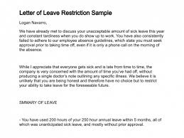 Sick Leave Letter From Doctor Cover Letter Medical Absence From Work Mockatoo Com