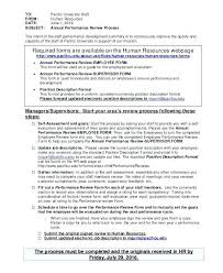 Employee Performance Evaluation Form Template Connections Recruiting ...