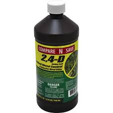 Weed Killer Mixing Chart Compare N Save 32 Oz 2 4 D Broadleaf Weed Control