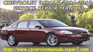 Chevrolet Impala 2006 2007 2008 2009 2010 Manual manual de ...