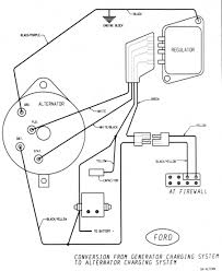 wiring diagram for ford alternator the wiring diagram on 4 wire trailer plug diagram