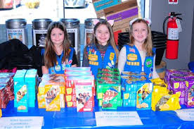 They're like mini-CEOs': Girl Scouts set up cookie shop at beer ...