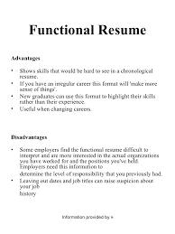 Chronological Resume Vs Functional Resume Fiveoutsiders Com