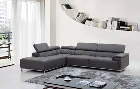furniture modern leather sectional sofa and black leather modern