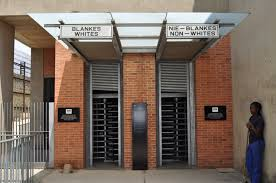 the boer war in south africa  entrance to apartheid museum