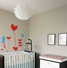 lighting for baby room. baby nursery decor high quality lighting materials products flowers pendant heart shaped birds for room