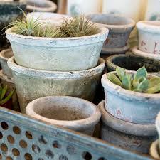 Terracotta White Pot