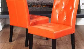 burnt orange leather bar stools
