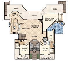 dream house plans. Ocean Dream House Plan - 31809DN Floor Main Level Plans Architectural Designs