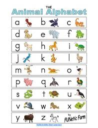 Wikipedia has tons of comprehensive information, but can be confusing to a beginner. Animal Alphabet Chart By Funetic Farm By Teresa Starr Tpt
