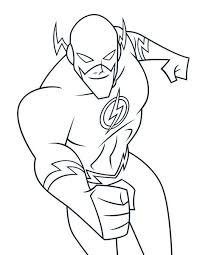 Flash Coloring Pages Comic Book Coloring Pages Coloring Pages