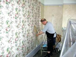 ing kids room best way to remove wallpaper glue from plaster walls
