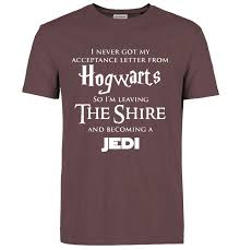 "Hogwarts- ""<b>Harry Potter</b>"" -<b>Star Wars</b> - ""<b>Jedi</b>"" Inspired Funny T-Shirt ..."