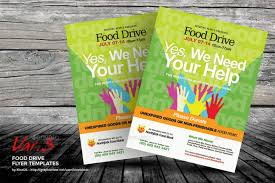 Food Drive Flyers Templates Food Drive Flyer Template Faveoly