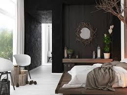 modern rustic industrial bedroom
