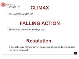 deep survival by laurence gonzales ppt  17 climax the narrator cuts the line falling action sheila rides home a college boy resolution older reflective narrator says it was a hard choice and