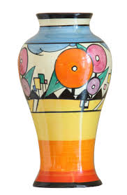Clarice Cliff Jug Designs A Rare Art Deco Vase By Clarice Cliff Design Realisation