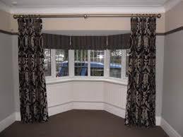 Good Of Best Bay Window Curtain Rods John Robinson House Decor Ideal Idea