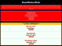 Sattamatka Satta Matka Check Kalyan Sattamatka143 Fastest