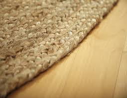 jute area rug close up
