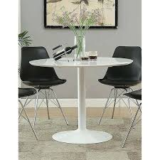 mid century round table mid century modern white round dining table free today