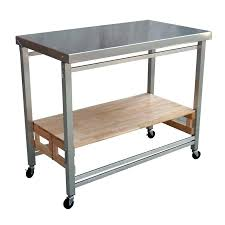 outdoor prep table grill station kitchen bar diy poeny co