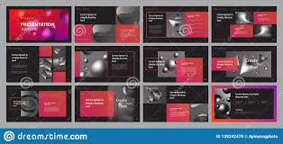 Business Portfolio Template Business Presentation Design Template With Page Layout