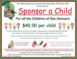 sponsor a child 2018
