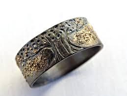 Unique Viking Ring Celtic Wedding Band Tree Of Life Ring Irish Wedding Rings For Men