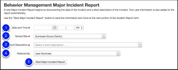 Basic Incident Report Template Create A Major Incident Report Illuminate Education