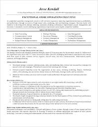retail store manager cv