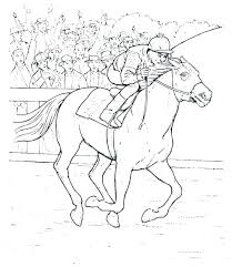 Horse Pictures To Color And Print Free Printable Horse Coloring