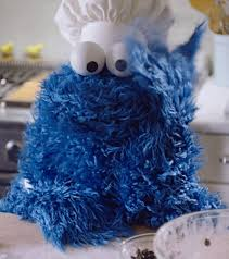 cookie monster dancing gif. Contemporary Monster Cookie Monster Sesame Street Gif With Cookie Monster Dancing Gif O