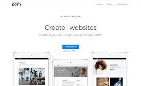 Template Websites Adorable POSH Multiverse HTML488 Bootstrap 48 Template For Creating Stunning