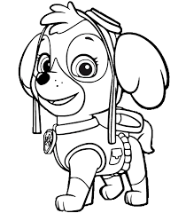 Image Result For Free Printable Paw Patrol Coloring Pages Paw